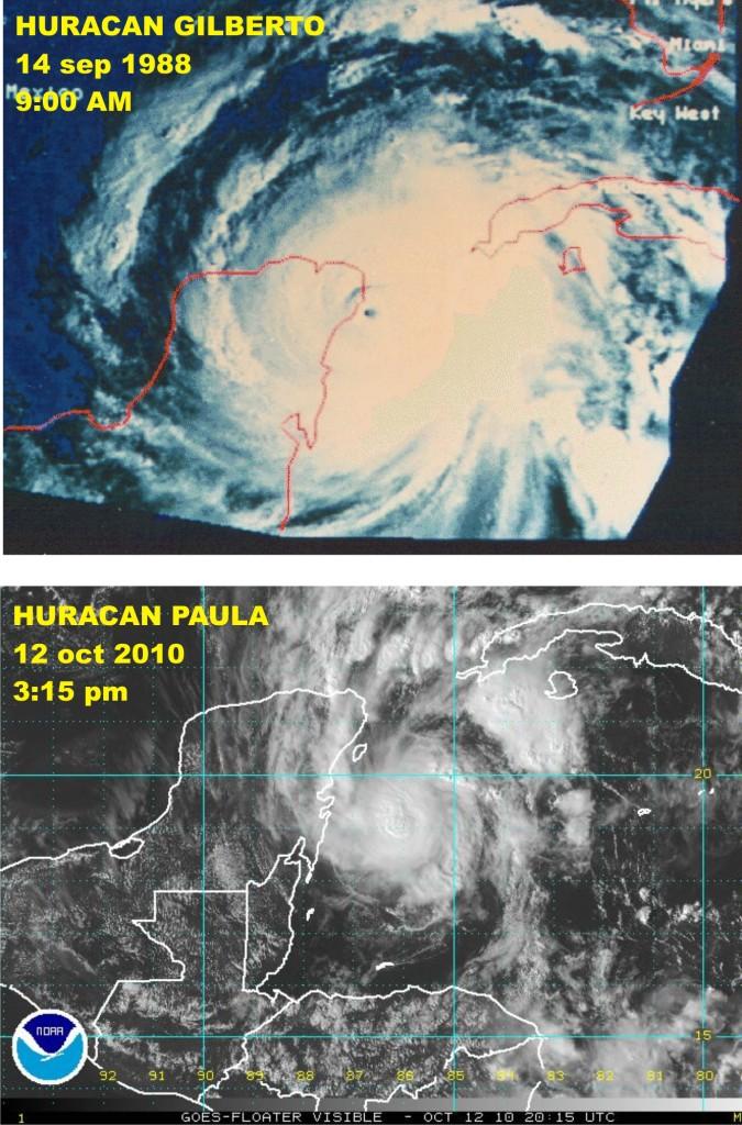 huracan gilberto-paula-comparacion