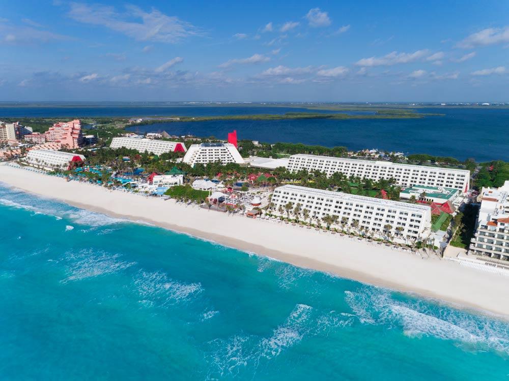 Paradas rutas en Cancún hotel