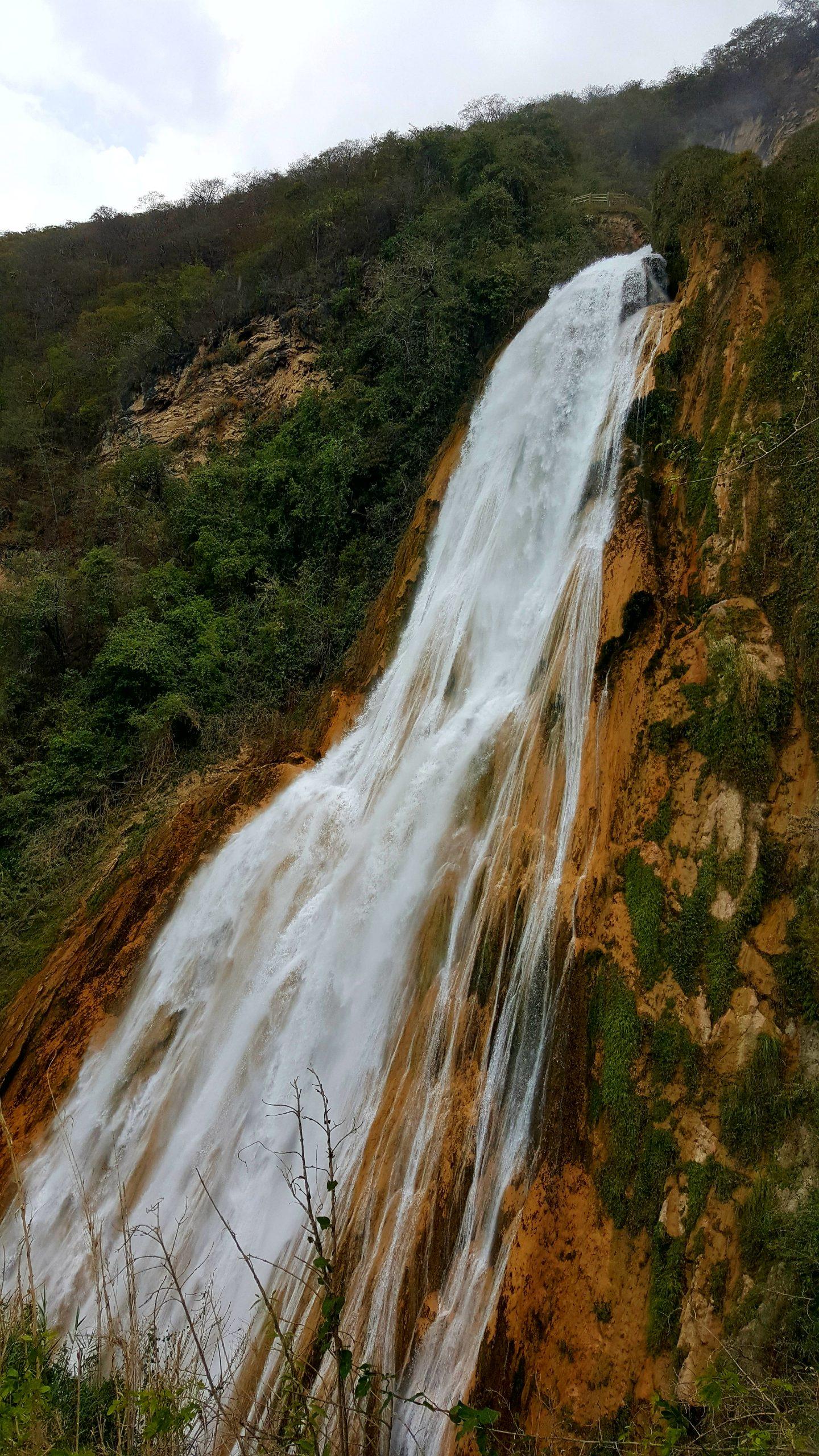 Parque natural El Chiflón en Chiapas