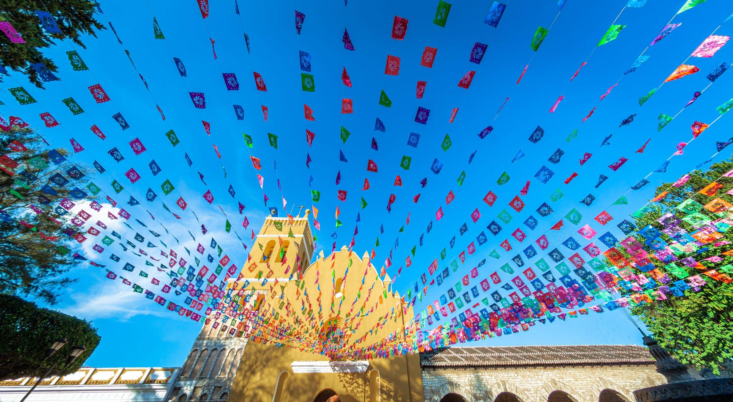Pueblo de Comitán en Chiapas