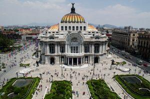 El Palacio de Bellas Artes en Ciudad de México