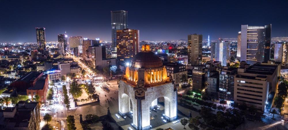 Ciudad de México de noche