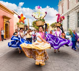Baile tradicional Oaxaca
