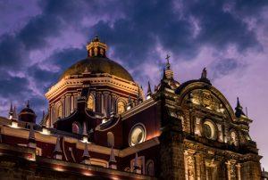 Catedral en Puebla