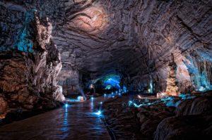 Tour por las grutas en Taxco