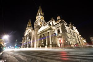 La catedral de Guadalajara, Jalisco