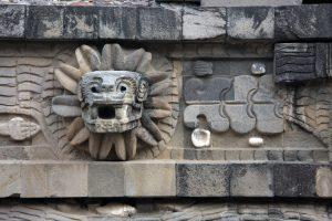 Escultura en Teotihuacán