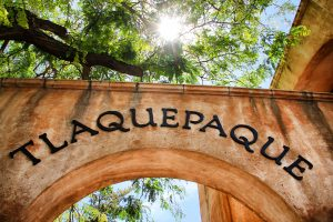Pueblo Tlaquepaque en Guadalajara