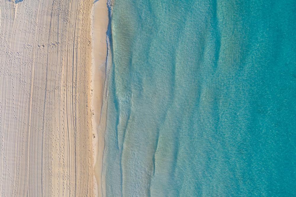 Vistas desde arriba de Playa Forum, Cancún