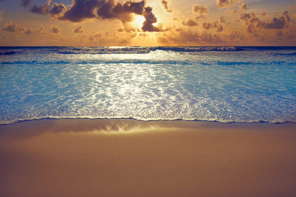 Atardecer en Playa Forum, Cancún