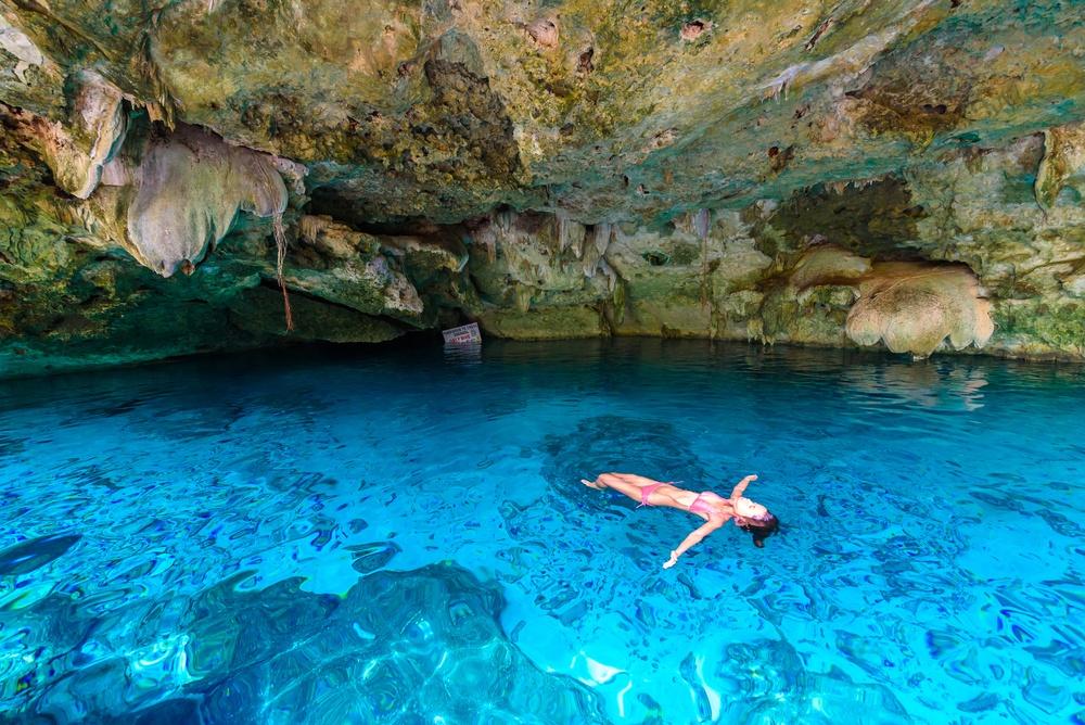 Cueva Cenote Dos Ojos