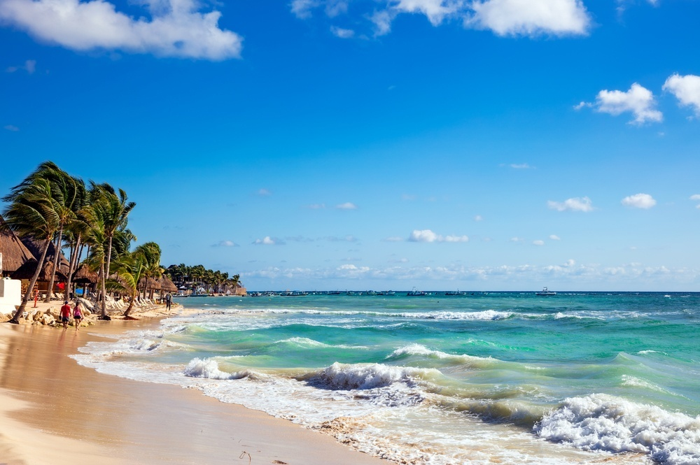 Playa cercana a Coco Bongo, Cancún
