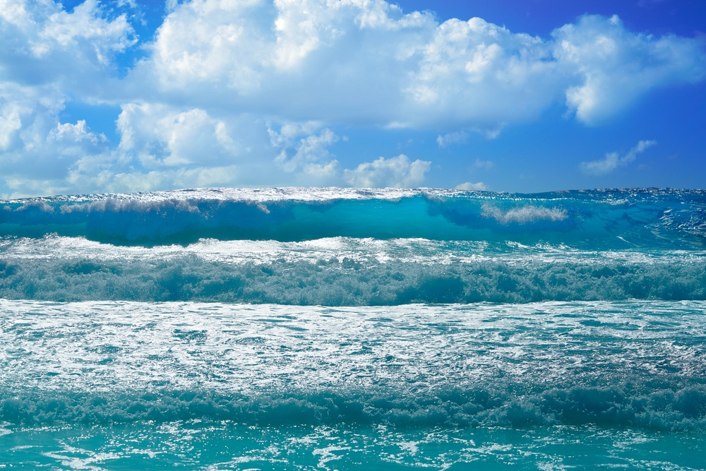 Olas en Playa Forum, Cancún