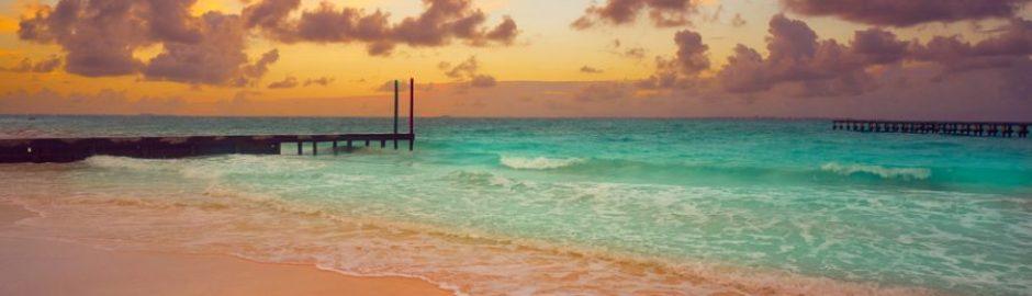 Atardecer en Playa Caracol