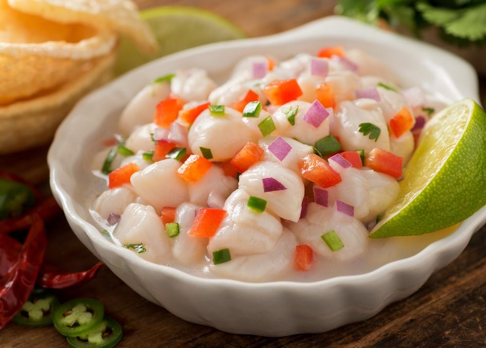 Ceviche pescado blanco