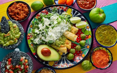 Las enchiladas mexicanas y sus ingredientes
