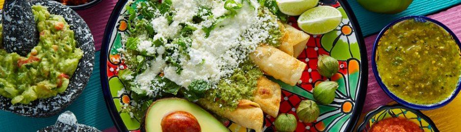 Las enchiladas mexicanas y sus ingredientes