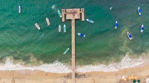 Playa y mar en Riviera Nayarit