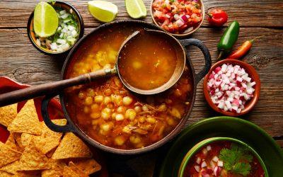 El pozole tradicional mexicano