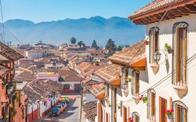 Panorámica calles San Cristobal de las Casas