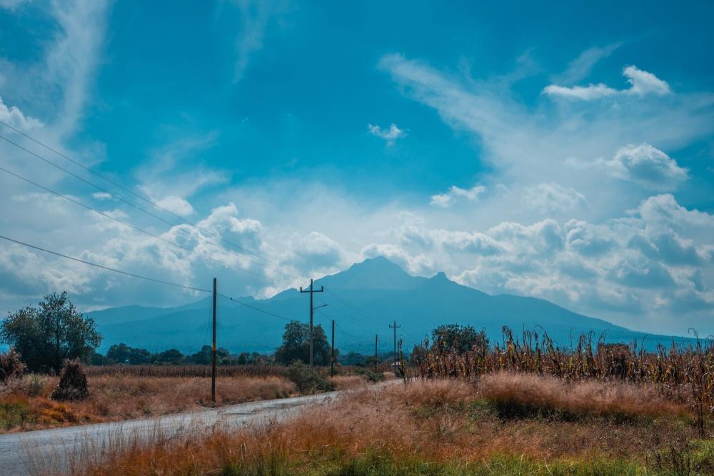Campo de una hacienda de Tlaxcala