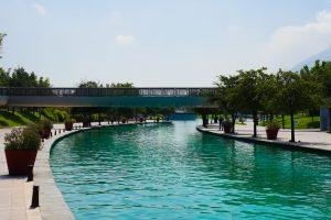 Parque Fundidora y el Canal de Santa Lucía, Monterrey