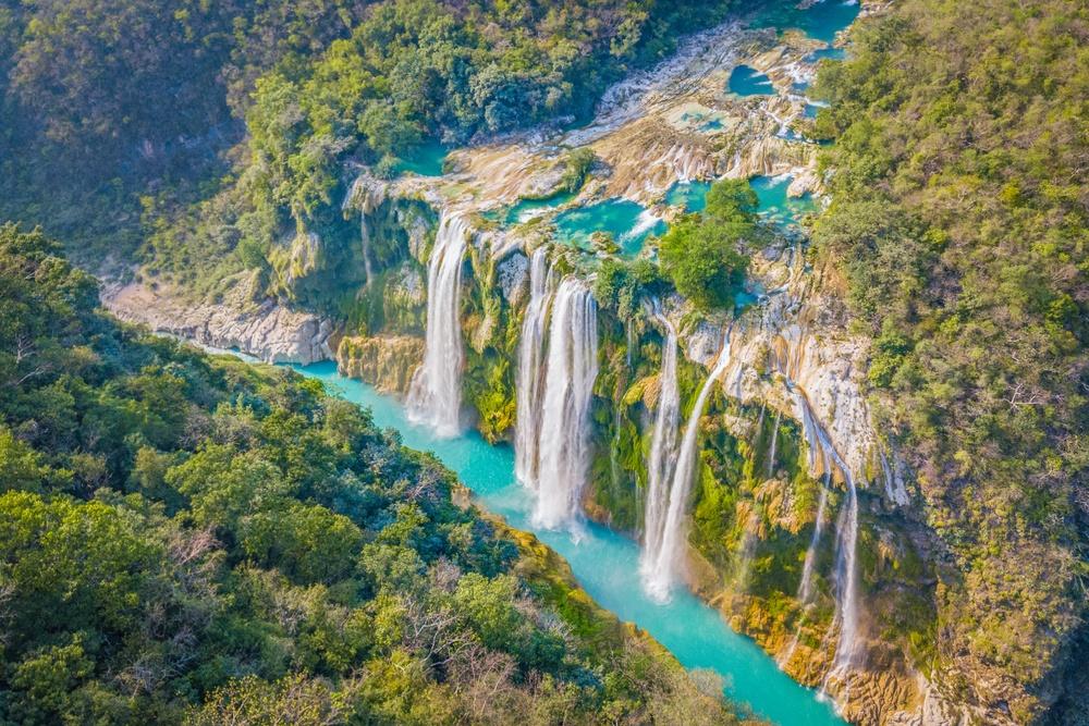 Las cascadas de la Huatesca Potosina