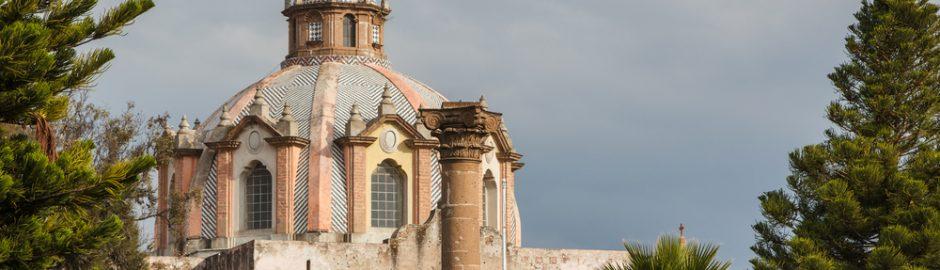 La catedral de Huichapan en el estado de Hidalgo