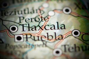 Situación geográfica del estado de Tlaxcala
