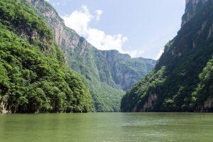 Río Grijalva en Villahermosa, Tabasco