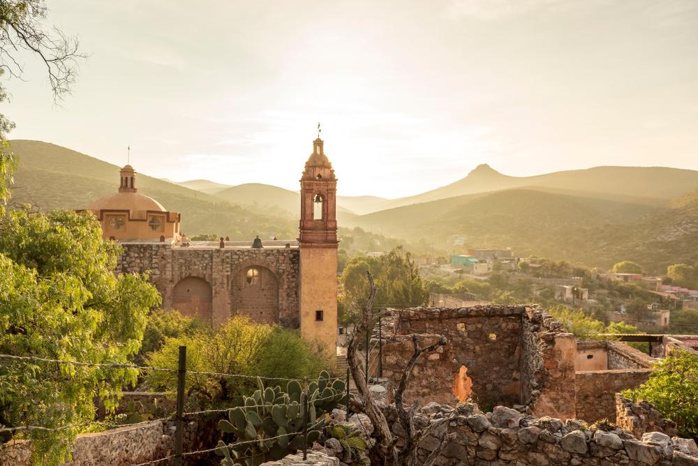 Atardecer ciudad en San Luis Potosí