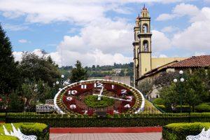 El reloj floral de Zacatrán