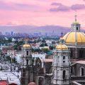 Atardecer en la Basílica de Guadalupe