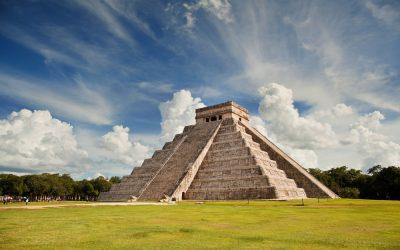La pirámide de Kukulcán en México