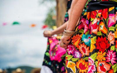 Atuendo típico del estado de Oaxaca