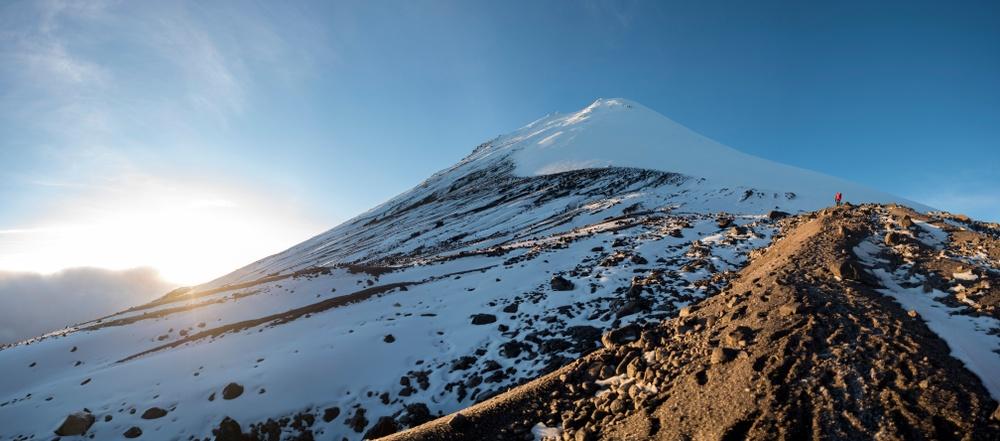Cima del volcán Citlaltepec
