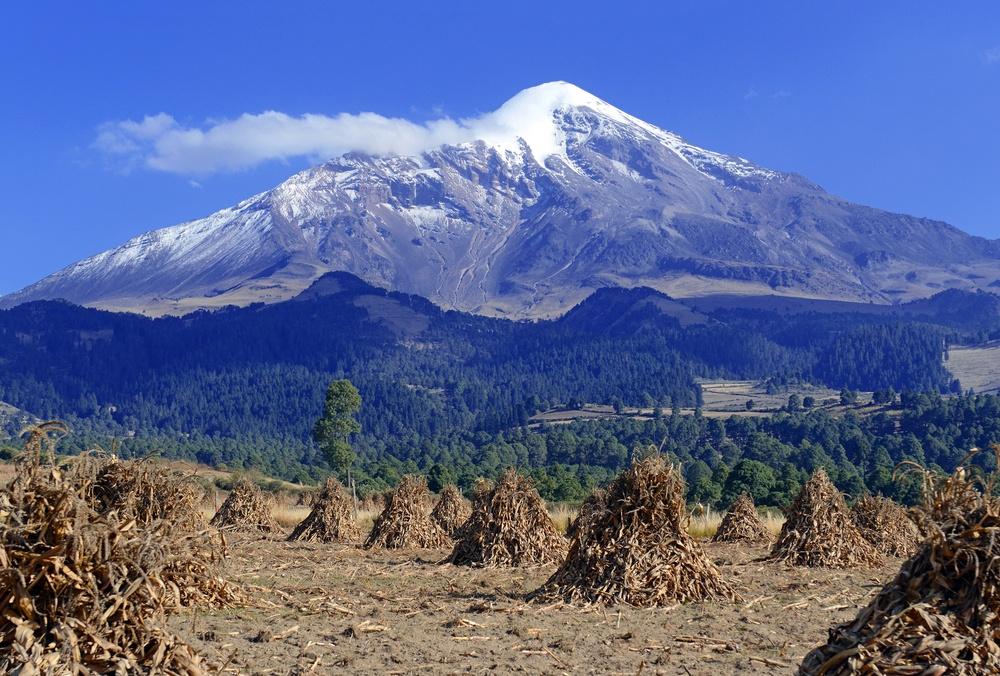 Panorámica del volcán Citlaltepec