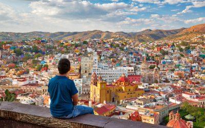 Vistas mirador en Guanajuato