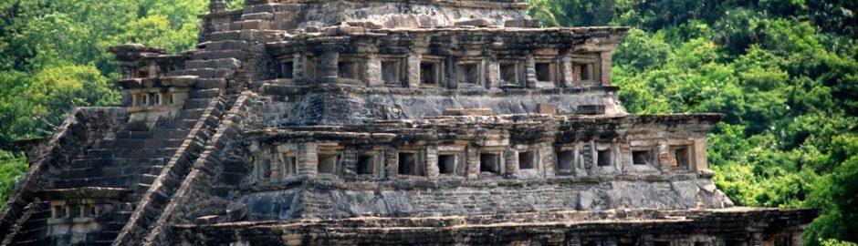 Las ruinas arquitectónicas del Tajín