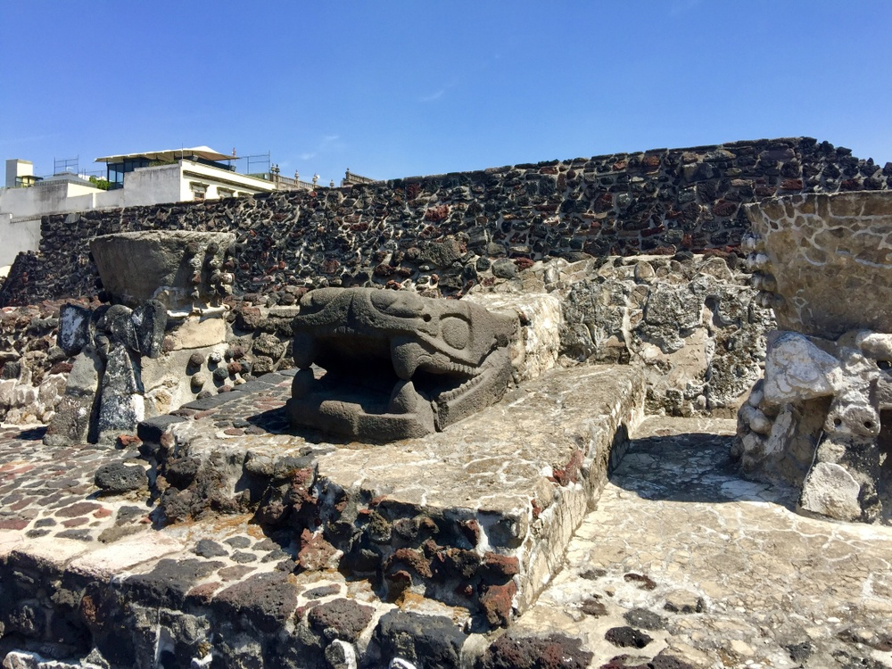restos encontrados antiguo imperio azteca