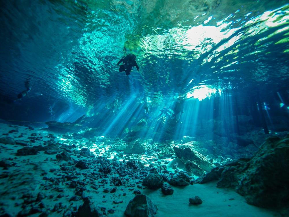 Cenote en Cancún