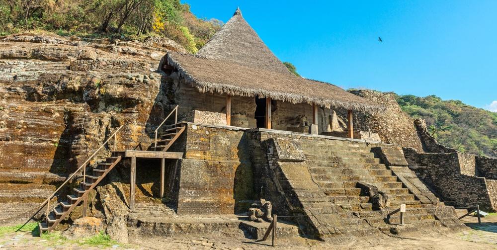 ascenso ruinas de Malinalco