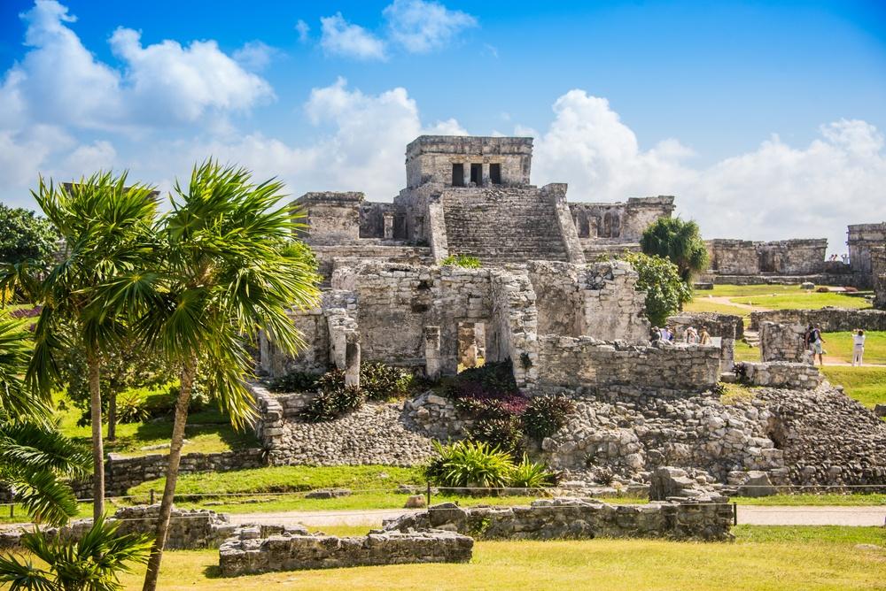 Antiguas ruinas mayas en Tulum