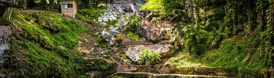 panorámica del cenote Zací