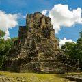 Zona arqueologica en Muyil