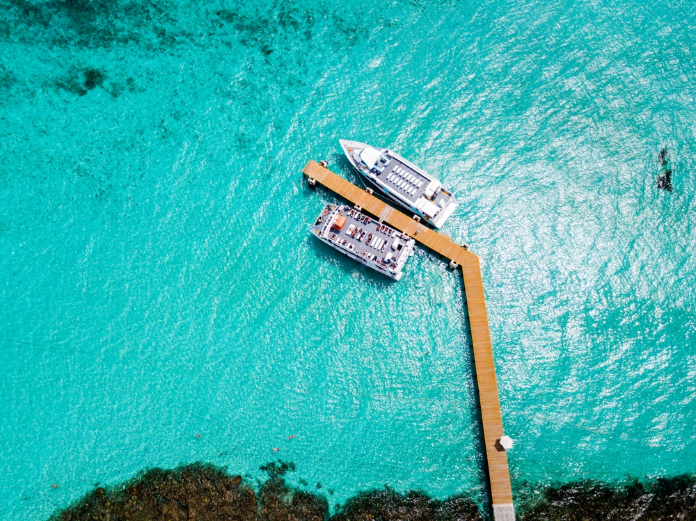 Tour catamarán Cancún