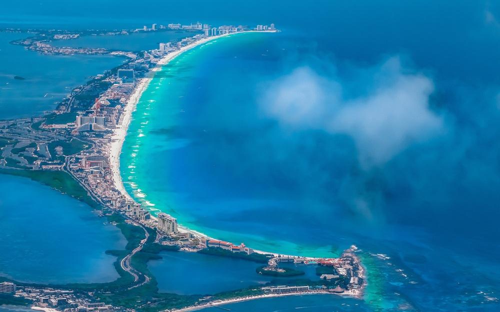 Vista panorámica tour en Cancún