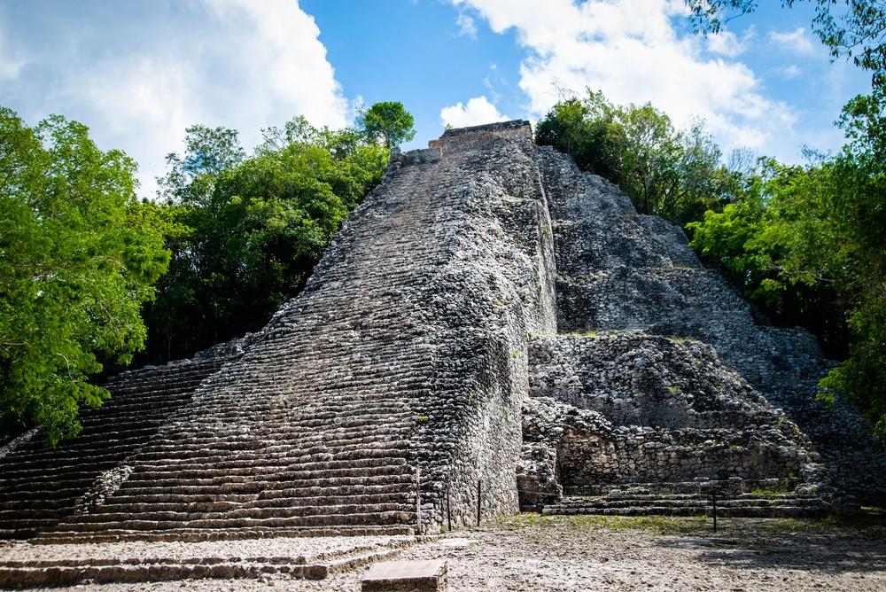 Yacimiento ruinas mayas