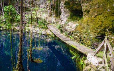 Cenote Xcanche en Valladolid