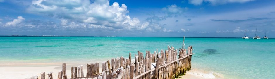 Playa en Isla Mujeres, México